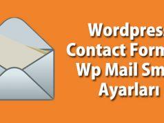 Contact Form 7 Ayarları